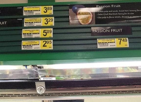 """Passion fruit, left, and dragon fruit are subsidized items under the current Nutrition North Canada program model, while bullets and diapers are not. """"We're going to have to decide whether this is a social program or a fairness issue,"""" said INAC Minister Carolyn Bennett in February. - Michele LeTourneau/NNSL photo"""