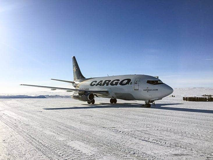 Nolinor Aviation isn't planning to jump into the Nunavut market to begin scheduled flights. The same response that Flair Air and Air North recently gave. photo courtesy of Nolinor Aviation
