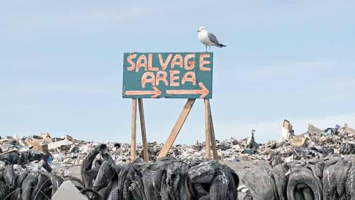 Amy Elliott, director of Salvage, the documentary film about Yellowknife's dump, said the film is expected to be shown at film festivals in the new year. Simon Whitehouse/NNSL photo.