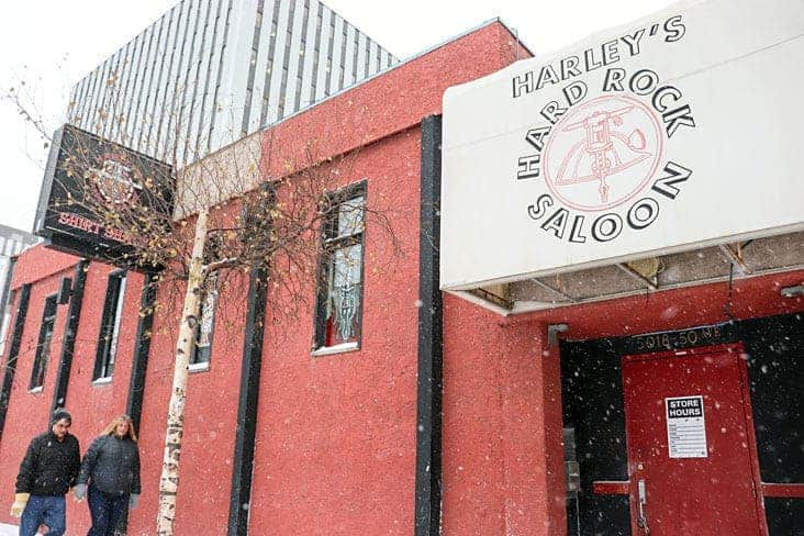 Harley's Hardrock Saloon will soon be on the move. Canada's Northern most strip club will be moving and expanding over the next few months. Dylan Short/NNSL photo