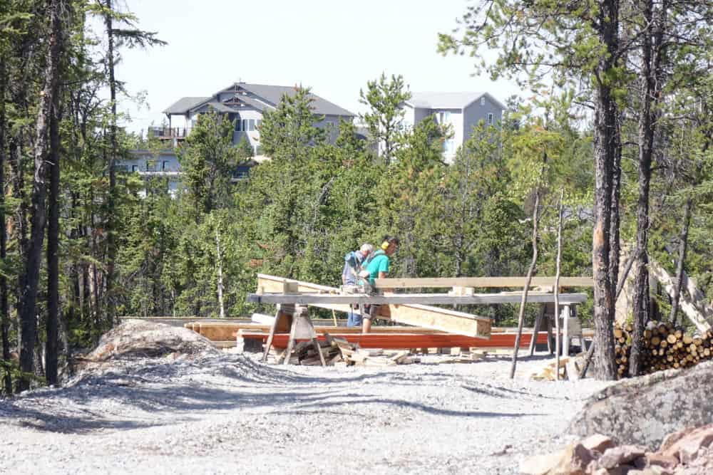 NNSL file photo A home under construction in the Grace Lake South subdivision.