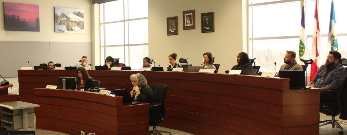 City council, in full attendance, came together for their February 18, 2019 governance and priorities committee meeting. Council discussed perusing $1.1 million in federal funding for programs that combat homelessness in Yellowknife.