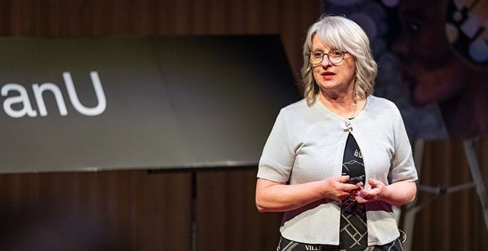 Petra Schulz gives a TEDx talk on the loss of her son to an oipiod overdose over five years ago. She will be speaking at the Baker Centre on Friday evening to stimulate conversation in the community about dealing with catastrophic loss. photo courtesy of Petra Schulz