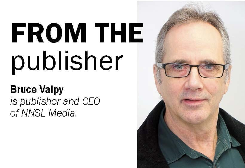 Bruce Valpy, Publisher, NNSL Media, Northern News Services Ltd.