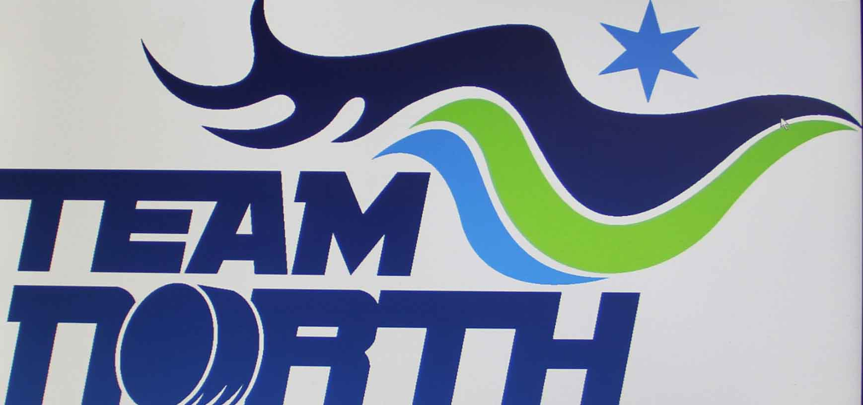 This is the logo for Team North, which is actually two teams - male and female - that will represent the NWT, Yukon and Nunavut at the upcoming National Aboriginal Hockey Championships. Image courtesy of Aboriginal Sports Circle NWT