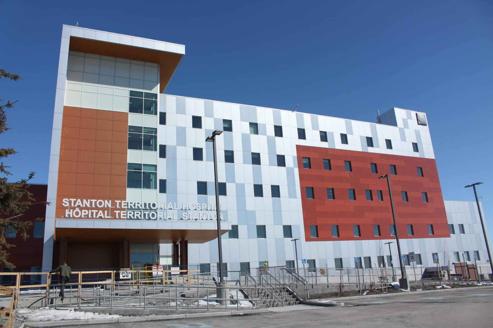 The new Stanton Territorial Hospital plans to open the doors to emergency services on May 26 at 6 a.m. Brett McGarry / NNSL Photo