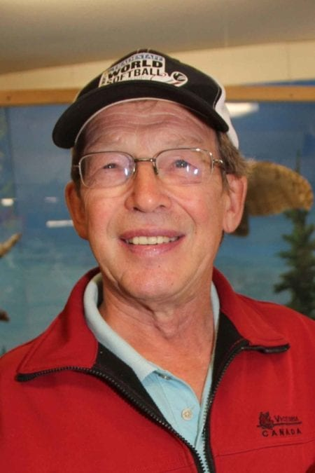 Tom Makepeace has returned for another year as the chair of the Hay River Seniors' Society. NNSL file photo