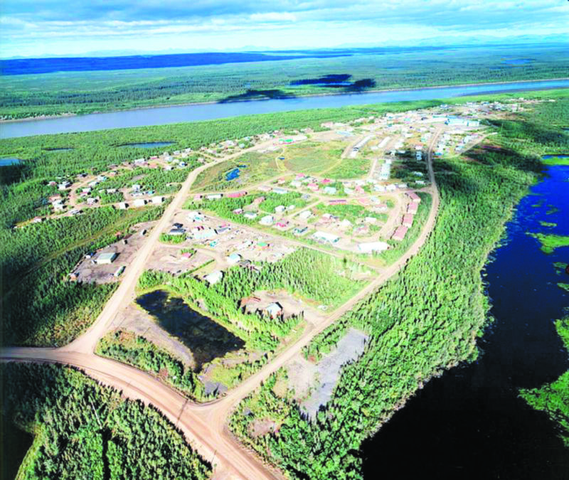Fort Mcpherson, 2007. photo courtesy MACA