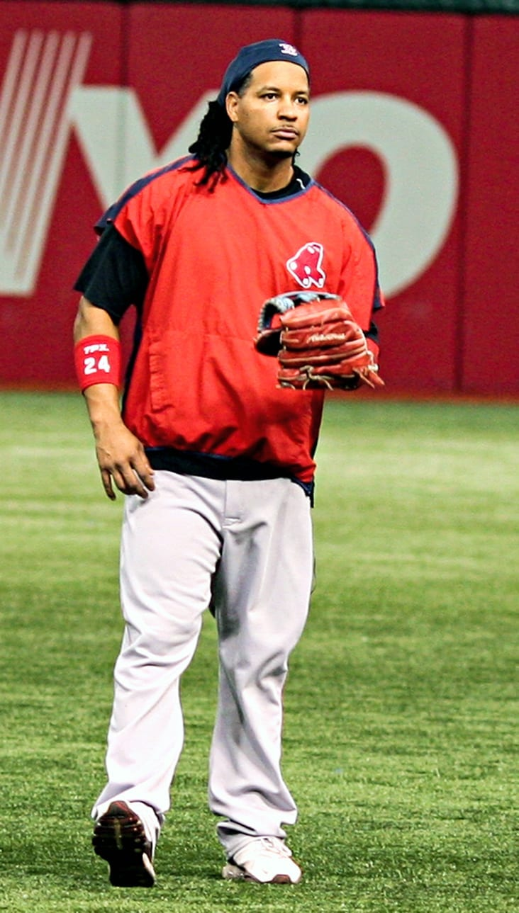 Manny Ramirez made a lot of money when he played with the Boston Red Sox. He continues to make a lot of money even though he no longer plays with the Boston Red Sox. photo courtesy of Wikimedia Commons