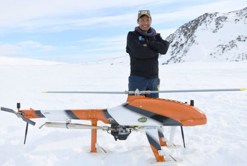 Kirt Ejesiak, chair and CEO of Arctic UAV, has formed the Inuit Business Council (Nunavut) to give a collective voice to Inuit entrepreneurs trying to navigate Covid-19 funding options for business owners. photo courtesy of Kirt Ejesiak
