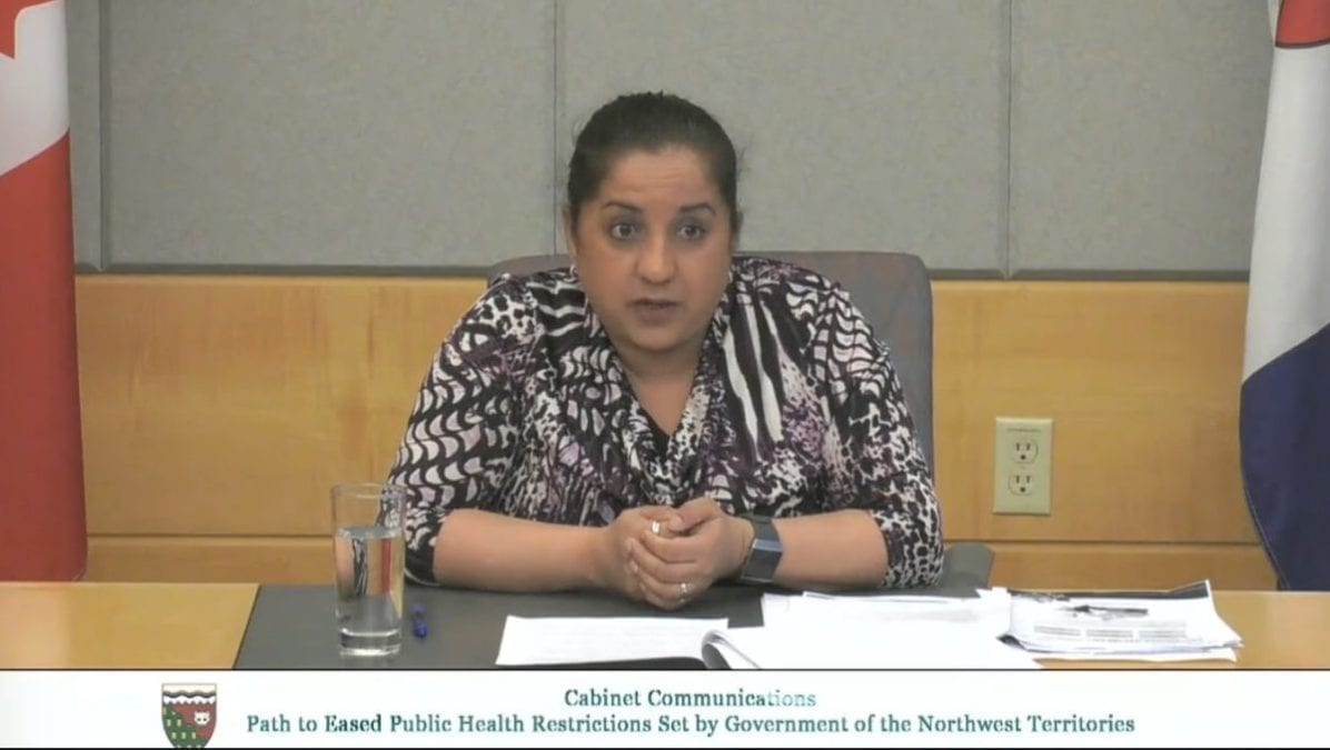 The new public advisory comes as cases of Covid-19 across Canada exceed the levels of the first wave, said chief public health officer Dr. Kami Kandola on Wednesday. GNWT image