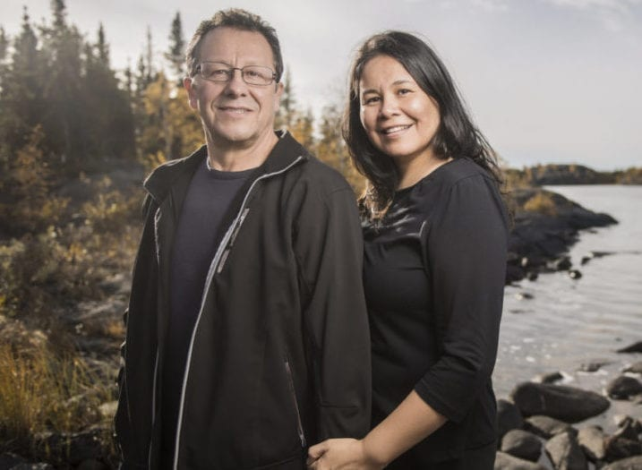 The husband-and-wife team of Jean and Roy Erasmus are starting a new program in the NWT called the Northern Indigenous Counsellor Training Initiative with the goal of training Indigenous counsellors to work with Indigenous people. Angela Gzowski photo