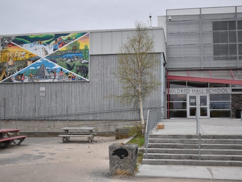 Half of the households of students at Mildred Hall School in Yellowknife don't have access to the internet, said Yellowknife Education District No. 1 trustee John Stephenson, on Tuesday. Blair McBride/NNSL photo