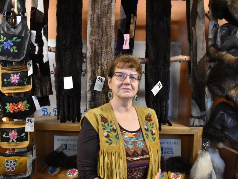 Kristine Bourque reopened her shop Just Furs on Nov. 2 after she closed more than seven months ago due to the pandemic. Blair McBride/NNSL photo
