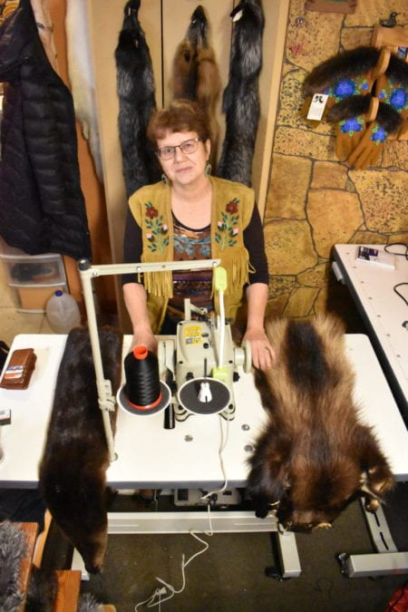 Kristine Bourque opened her shop Just Furs on Nov. 2 after she closed more than seven months ago due to the pandemic. Blair McBride/NNSL photo