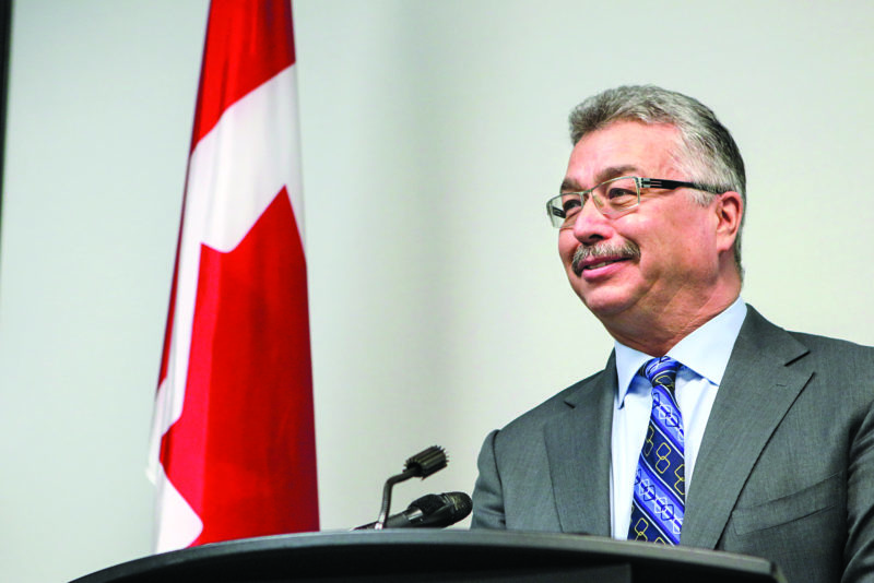 More than $1.3 million in federal funding will help support projects in Yellowknife, Fort Liard and Norman Wells, said NWT MP Michael McLeod on Friday. NNSL Photo