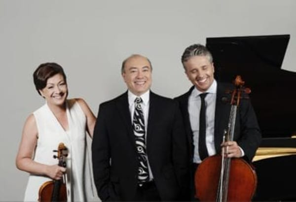 The Gryphon Trio will be holding a virtual concert on Dec. 13. Ticket-holders will be able to participate in a question-and-answer session with the classical Canadian musicians. photo courtesy of the Gryphon Trio official website