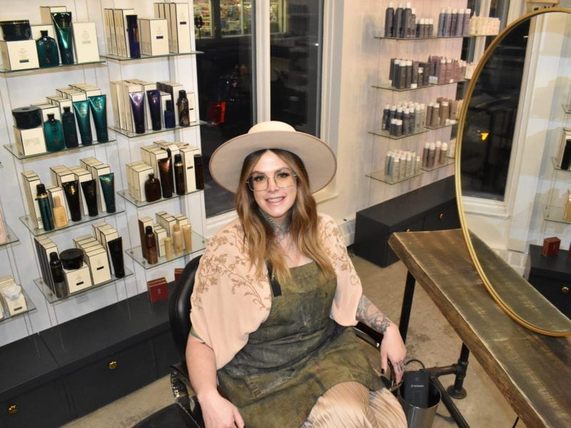 The rise in client numbers since Blunt Yk moved into its new location has brought about 25 per cent more business to the salon, said owner Olivia Patterson. Blair McBride/NNSL photo
