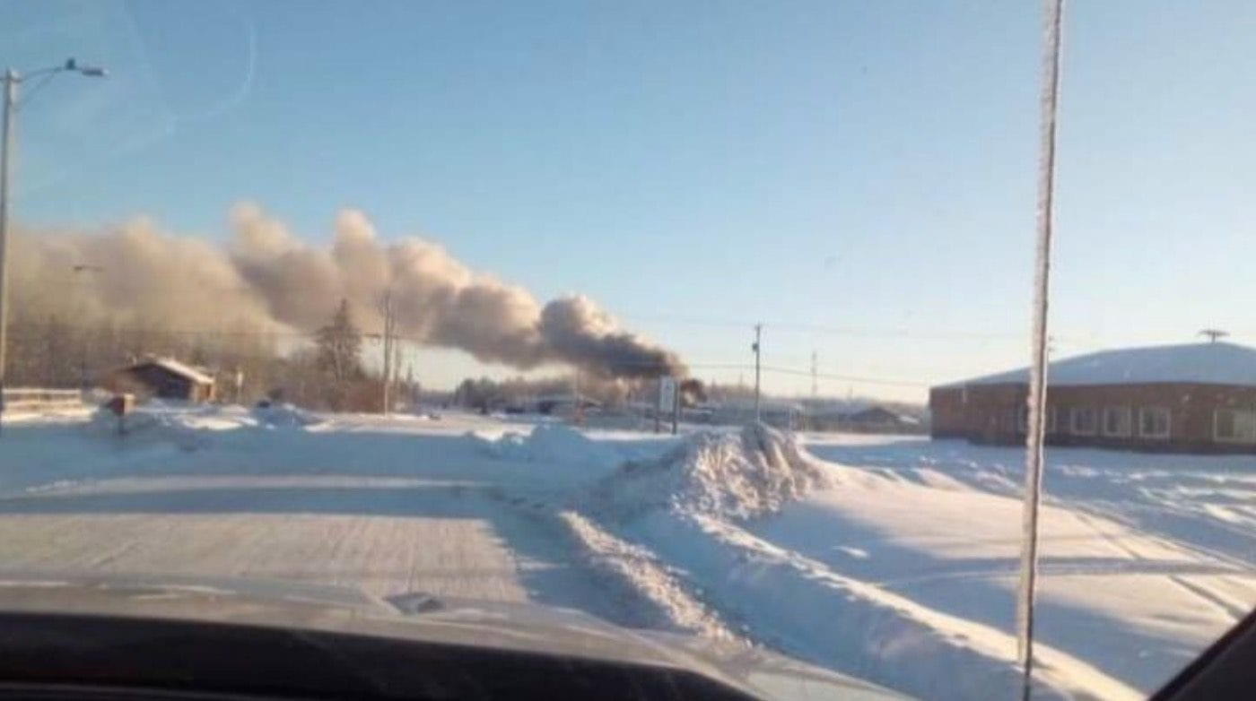 A child died in the house fire that occurred in Fort Providence on Monday, said RCMP on Wednesday. GoFundMe photo