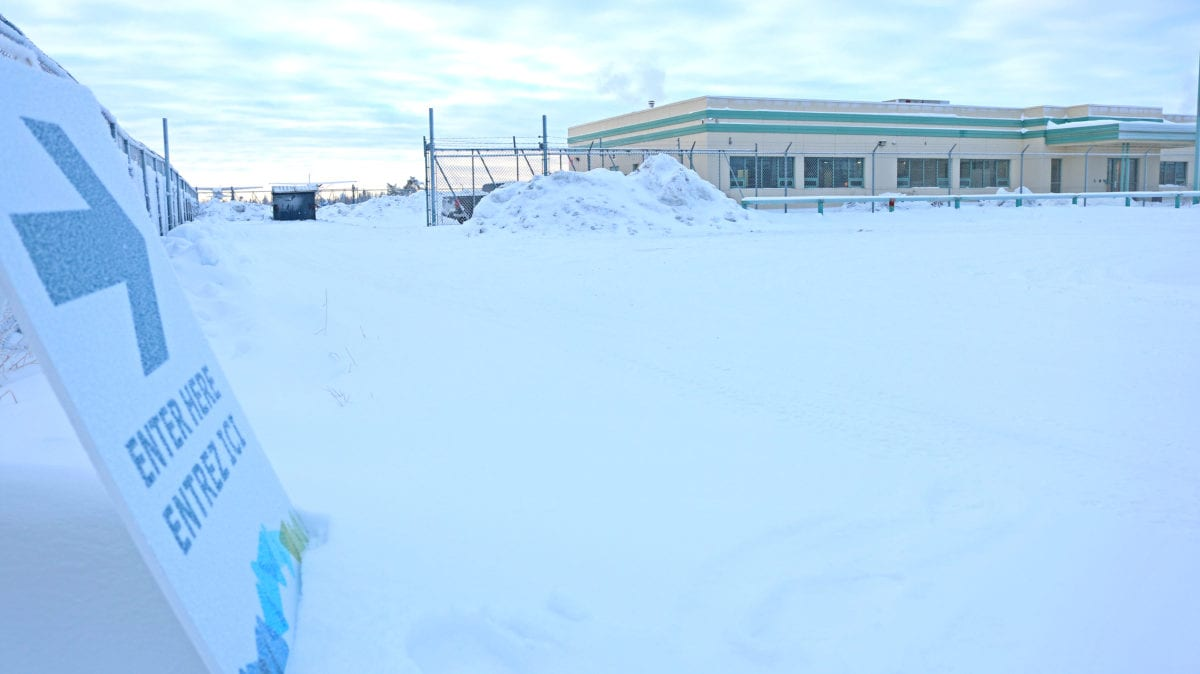 The Department of Health and Social Services said Jan. 7 it had moved its mobile Covid-19 testing station from the downtown to this building at 108 Archibald Cr. near the Yellowknife airport. Craig Gilbert/NNSL photo