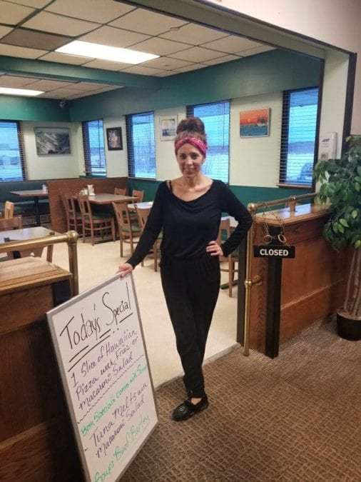 Darlene Sibbeston, the new owner of the Maroda Motel and Nahanni Inn in Fort Simpson, plans to reorganize the restaurant menu in the Nahanni towards more consistent, hearty meals. photo courtesy of Darlene Sibbeston