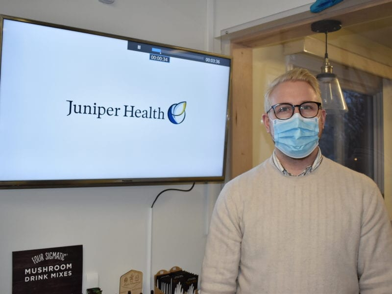 Careful logistical planning helped Juniper Clinic welcome back patients as soon as the NWT entered phase one of Emerging Wisely in May, said owner Dr. Michael Bokor. Blair McBride/NNSL photo