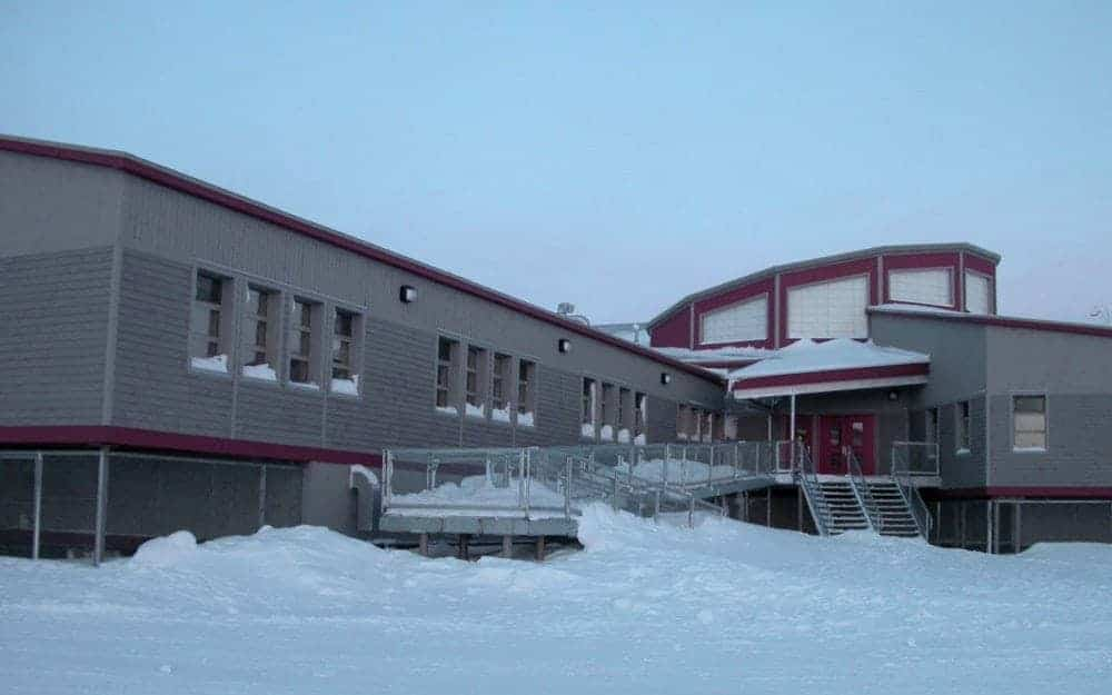 Sanikiluaq's Paatsaali School, which opened in the 2011-2012 school year, is one of six Nunavut schools for which the Government of Nunavut would have to pay full replacement value if it were destroyed because it's not worth more than the GN's $20 million deductible. Qarmatalik School in Resolute, Umimmak School in Grise Fiord, Nanook School in Apex, Ecole Des Trois Soleils in Iqaluit and Victor Sammurtok School in Chesterfield Inlet are the others valued at less than $20 million. photo courtesy of the Government of Nunavut