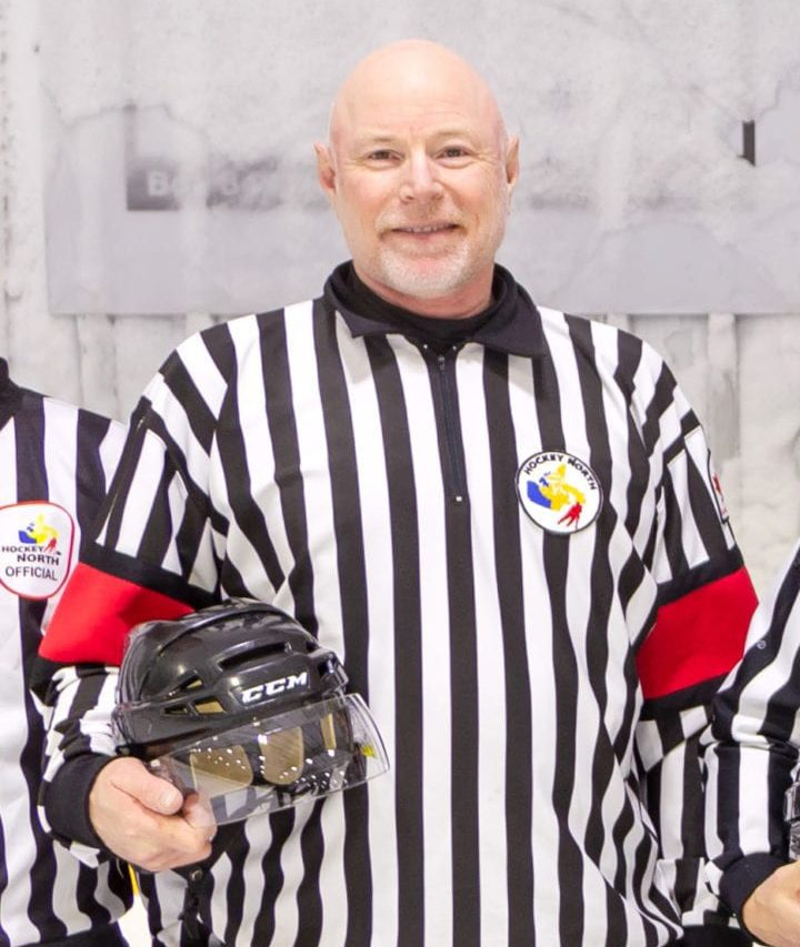 Craig Hockridge was part of the officiating crew at the 2019 Terence Tootoo Memorial Hockey Tournament in Rankin Inlet. It was his last one, sadly, as Hockridge died on June 17 in Edmonton after suffering a massive stroke. photo courtesy of Brian Tattuinee