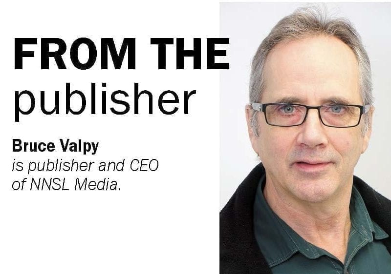 Bruce valpy is Publisher of Nunavur News, Kivalliq News and CEO of NNSL Media